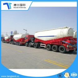 Large Capacity 65 Cbm Widely Used Bulk Cement Tanker Truck