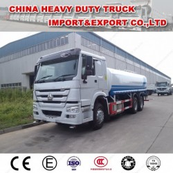 HOWO 6X4 20m3 Water Tanker Truck Spray Truck for Sale
