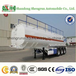China Manufacturer 3 Axles Carbon Steel Fuel Tanker Truck for Sale