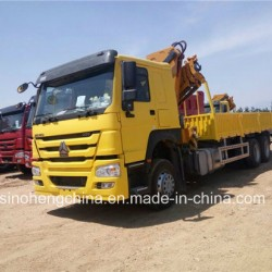 6 Ton Sinotruk HOWO 6X4 Truck Mounted Crane for Sale