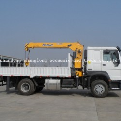 Straight Arm Truck Mounted Crane 5