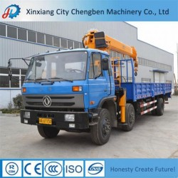 China Manufacturer Telescopic Boom 10 Ton Truck Mounted Crane for Sa