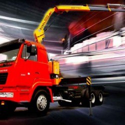 XCMG 5 Ton Truck-Mounted Crane with Foldable Arm Sq5zk2q