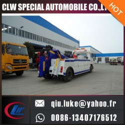 China Brand Cheap Road Wrecker Towing Truck with Heavy Duty