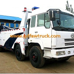 50tons Faw New Condition Heavy Wrecker Truck