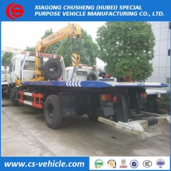 Foton Auling 4ton Road Flatbed Wrecker Tow Truck
