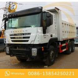 Low Price Used Iveco Genlyon Dump Truck 6X4 340HP Tipper