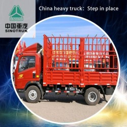 Dump Truck HOWO Heavy Truck 170HP Used for Sale