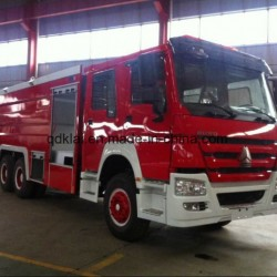 Sinotruk New Fire Fighting Truck HOWO 6X4 Water Tank Fire Truck