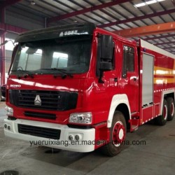 HOWO Water Fire Truck with 15000L