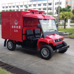 Excellent Quality 2 Seater Fire Truck for Amusement Park