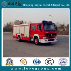 HOWO 4X2 Urban Battle Fire Truck for Sale