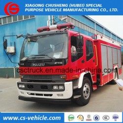Cccf Certificated Isuzu 4X2 Fire Fighting Truck Water Tank Truck
