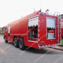 China 20cbm Sinotruk HOWO Fire Water Tank Truck/Fire Fighting Truck