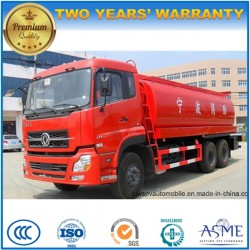 Dongfeng 6X4 25000 Liters Water Tender Truck 25 Kl Engine Fire Fighting Truck