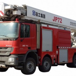 Top 1 Fire Fighting Equipment Manufacturer XCMG Official 72m Water Tower Fire Truck Jp72 for Sale
