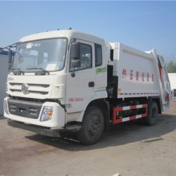 New 13 Cubic Meters Refuse Compactor Garbage Truck
