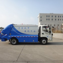 8t Compression Garbage Service Truck