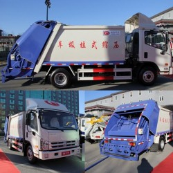 Forland 113HP 4X2 Compactor Garbage Truck