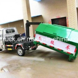 3CBM Hook-lift Arm Type Garbage Truck, Garbage Transfer Truck