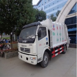 Cheap and High Quality 336HP 5-15m3 Garbage Truck Height