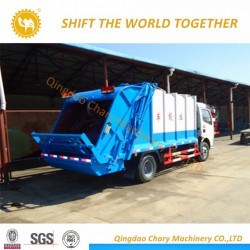 Dongfeng 4X2 6m3 Compress Garbage