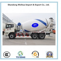 8cbm Concrete Mixer Truck of Semi-Trailer