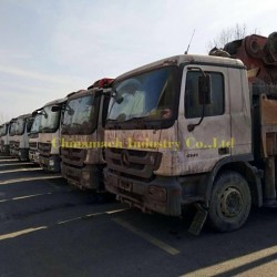 38m 42m 48m 52m 56m Used Sany Concrete Pump Truck with Isuzu Chassis