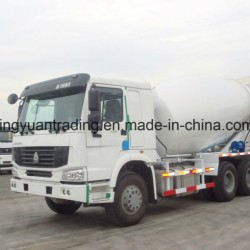 10 Wheels HOWO Concrete Mixer Truck with Low Price
