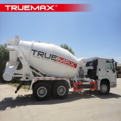 Concrete Truck Mixer and Upper Parts with Truemax Brand