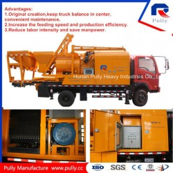 Pully Manufacture Mobile Concrete Mixing Pump Truck (JBC40-L1)