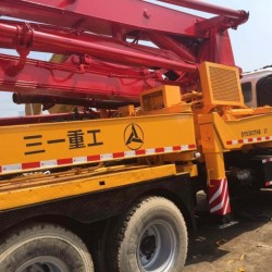 37m Used Concrete Pump Truck of Isuzu for Sale