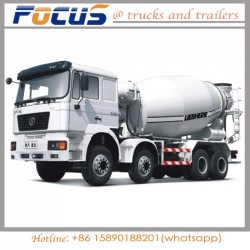 Reasonable Price of 12 Cubic Concrete Transit Mixer Tank Truck with