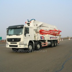Truck-Mounted Concrete Boom Pump of 24m, 37m, 39m, 48m