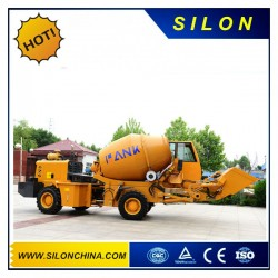 1.2 M3 Concrete Mixer Truck with 4X4 Wheel Drive