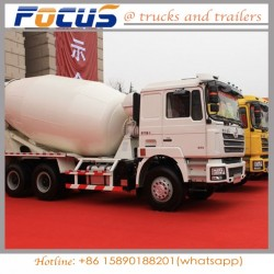 10cubic Self-Loading Mobile Concrete Mixing Tanker Truck for Sale in
