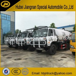 Dongfeng 6 X 6 Sewage Vacuum Suction Tanker Truck