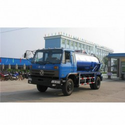 10000L Vacuum Sewage Suction Truck Septic Tank Vacuum Truck From China Manufacturer