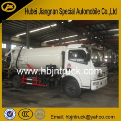 Dongfeng 7000 Liters Vacuum Suction Sludge Tank Truck