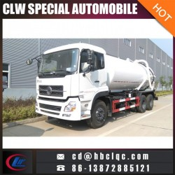 6X4 16m3 18m3 Sewer Suction Vehicle Sludge Transport Tank Truck