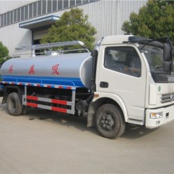 High Quality Vacuum Tank Sucking Truck Fecal Suction Trucks