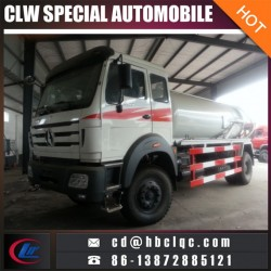 4X2 8m3 10m3 Sewer Dredging and Cleaning Vehicle Sewer Sucking Tank Truck