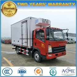 Sinotruk 3t to 5t Refrigerated Lorry Truck 4X2 Cold Storage Truck