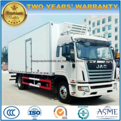 JAC High Quality 10 Tons Refrigerated Truck 4X2 Fresh Food Transport Truck