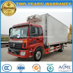 Foton 4X2 Food Refresh Truck 8 Tons Refrigerated Box Lorry Truck