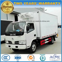 Dongfeng 6 Wheels Refrigerated Lorry Truck 5 T Vaccine Transport Truck