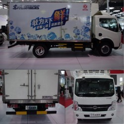 Dongfeng Meat Vegetable Food Frozen Truck