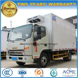 JAC 4X2 Cold Storage Truck 5 Tons Refrigerator Vehicle