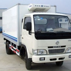 95HP Refrigerator Cargo Truck Container Truck