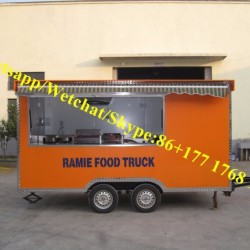 Fast Food Trucks for Sale in China